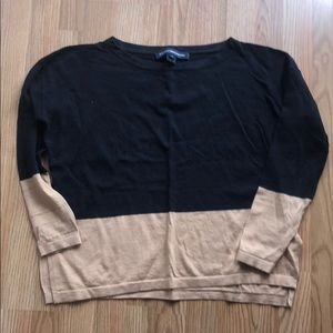 4/$25 French Connection sweater size M